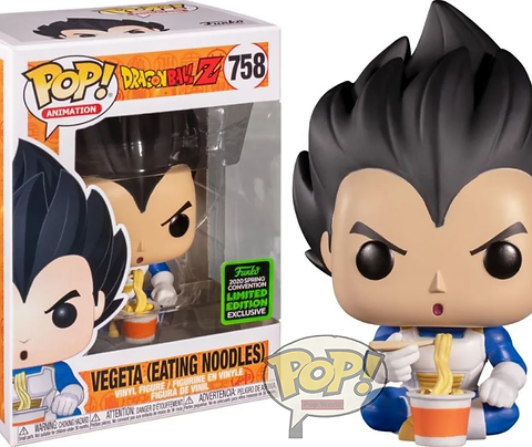 VEGETA (EATING NOODLES) 758 EXCLUSIVE CONVENTION 2020