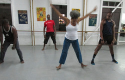 Barbados Dance Project master class