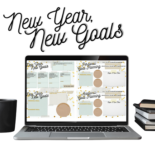 New Year, New Goals Planner