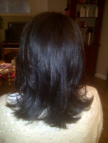 liquid Keratin before and afters.