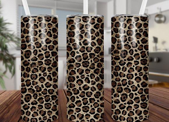 Cheetah Print Tumbler