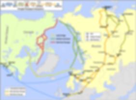 Corridors de transport arctiques