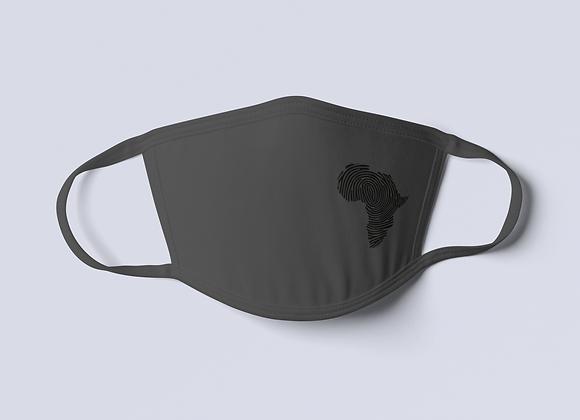 Reflective Africa Mask