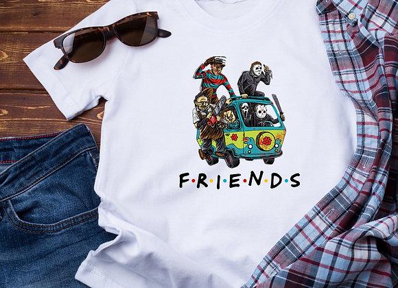 Horror Friends Van