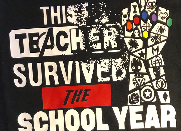 Avengers Teacher Shirt