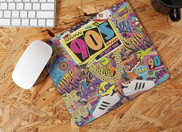 90s Theme Mouse Pad