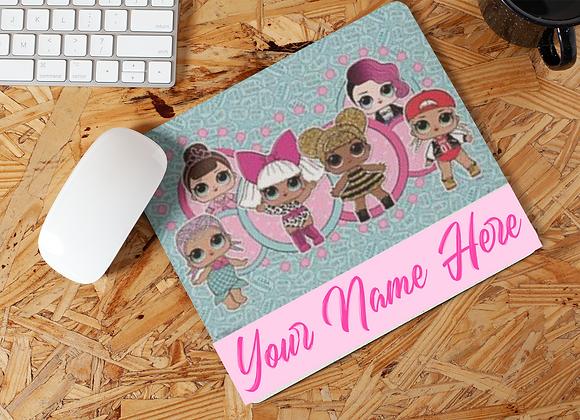 Custom Dolls Mousepad