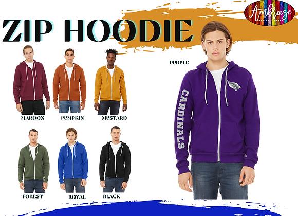 Custom Zip Hooded Sweatshirts