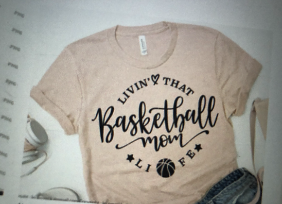 Livin' That Basketball Mom Life