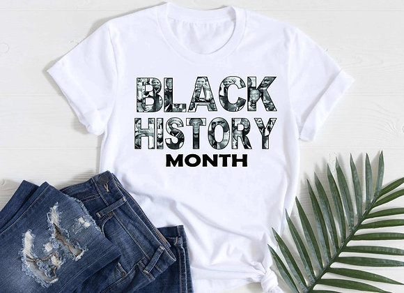 Black History Month Collage Tee