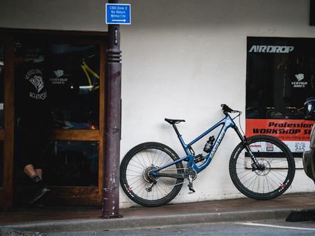 Staff Rides - Ben Hildred's Santa Cruz Hightower 2