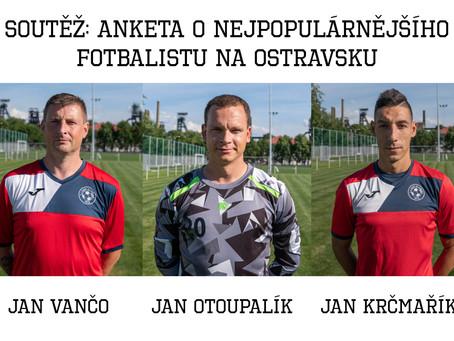 Janové Vančo, Otoupalík a Krčmařík v anketě Deníku. Hlasujte!