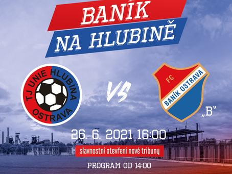 Otevíráme novou tribunu: Hlavním programem bude utkání s Baníkem