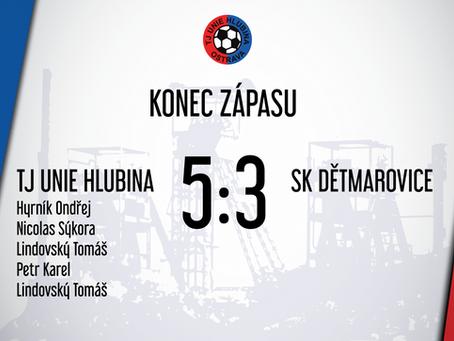 Hlubina v přípravném zápase porazila divizního soupeře!