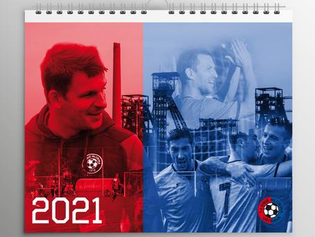 Objednávejte kalendář TJ Unie Hlubina pro rok 2021
