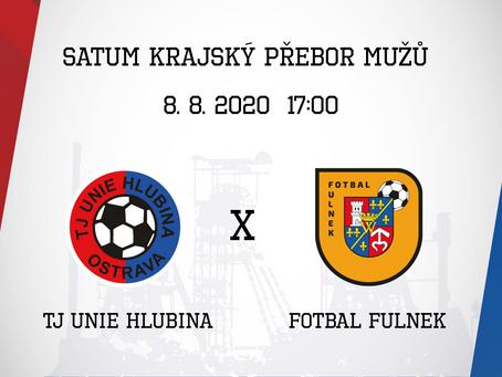 První soutěžní utkání odehrajeme dnes od 17:00 proti Fulneku