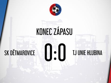 V dalším přípravném utkání smírně 0:0 s Dětmarovicemi