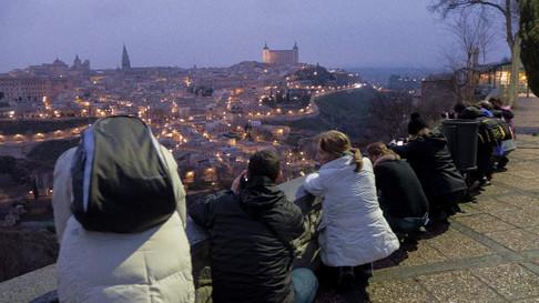 Alumnos en Toledo