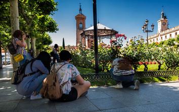 Alumnos PLaza de Cervantes