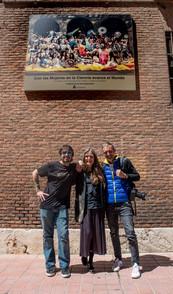 Carlos de Rivas, Ouka Leele y Ricardo Espinosa