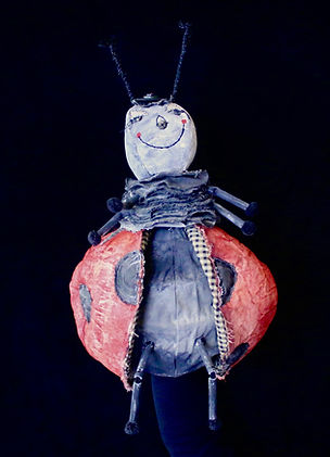James and the Giant Peach Lady Bug Puppet Rental
