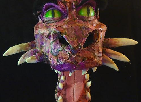Shrek the Musical Dragon Puppet Rental