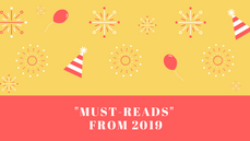 """""""Must-reads"""" from 2019"""