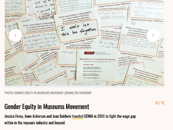 GEMM made Vocally's list of 12 Female & Non-Binary Activists Crusading For Social Change In