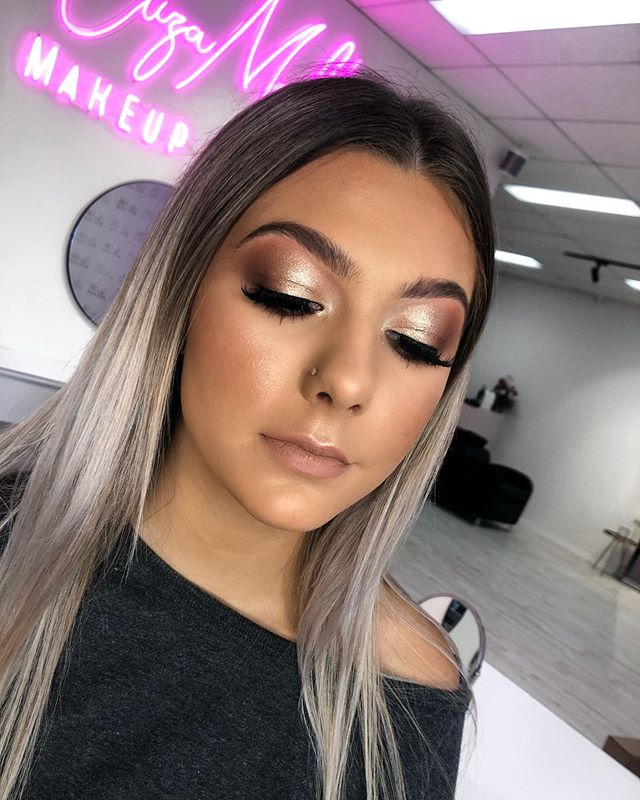Smoked out with _jordanaticiacosmetics I