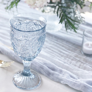 PERIWINKLE DRINKING GOBLETS