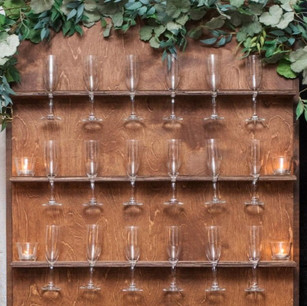 WOOD CHAMPAGNE WALL