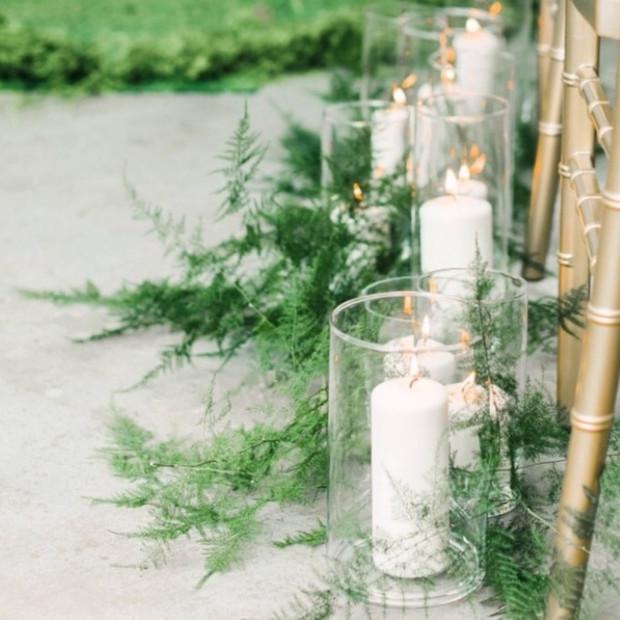ASSORTED GLASS CYLINDAR VASES