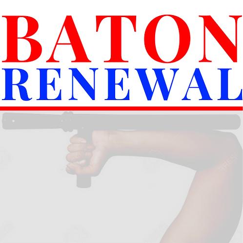 Baton Renewal