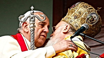 Pope's Two Headed Snake Staff
