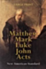 Matthew Mark Luke John Acts
