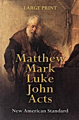 Matthew Mark Luke John Acts