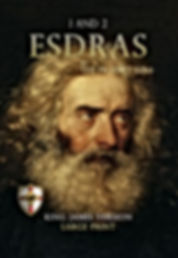 Esdras, 1 and 2, Large Print