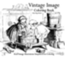 Vintage Image Coloring Book