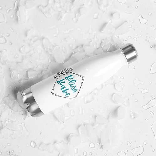 """""""Bliss Babe"""" Stainless Steel Water Bottle"""