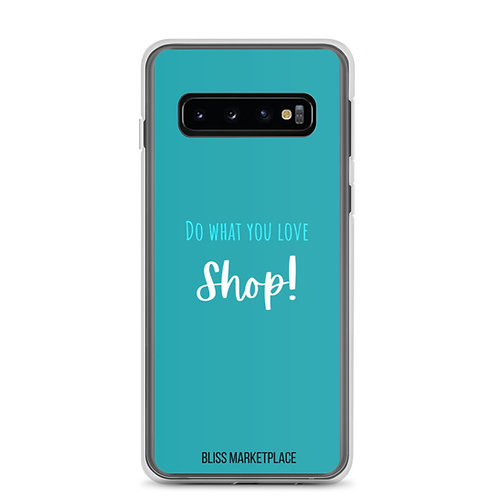 """Bliss Marketplace """"Love to Shop"""" Samsung Case"""