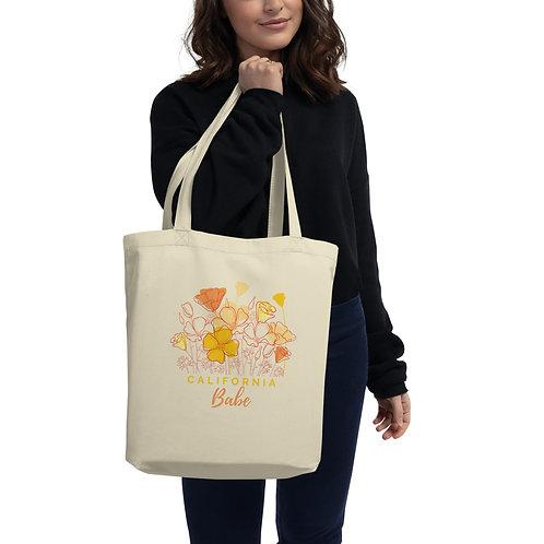 """California Babe"" Eco Tote Bag"