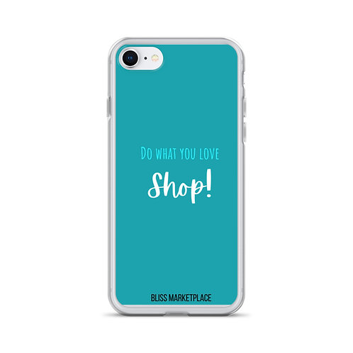 """Bliss Marketplace """"Love to Shop"""" iPhone Case"""