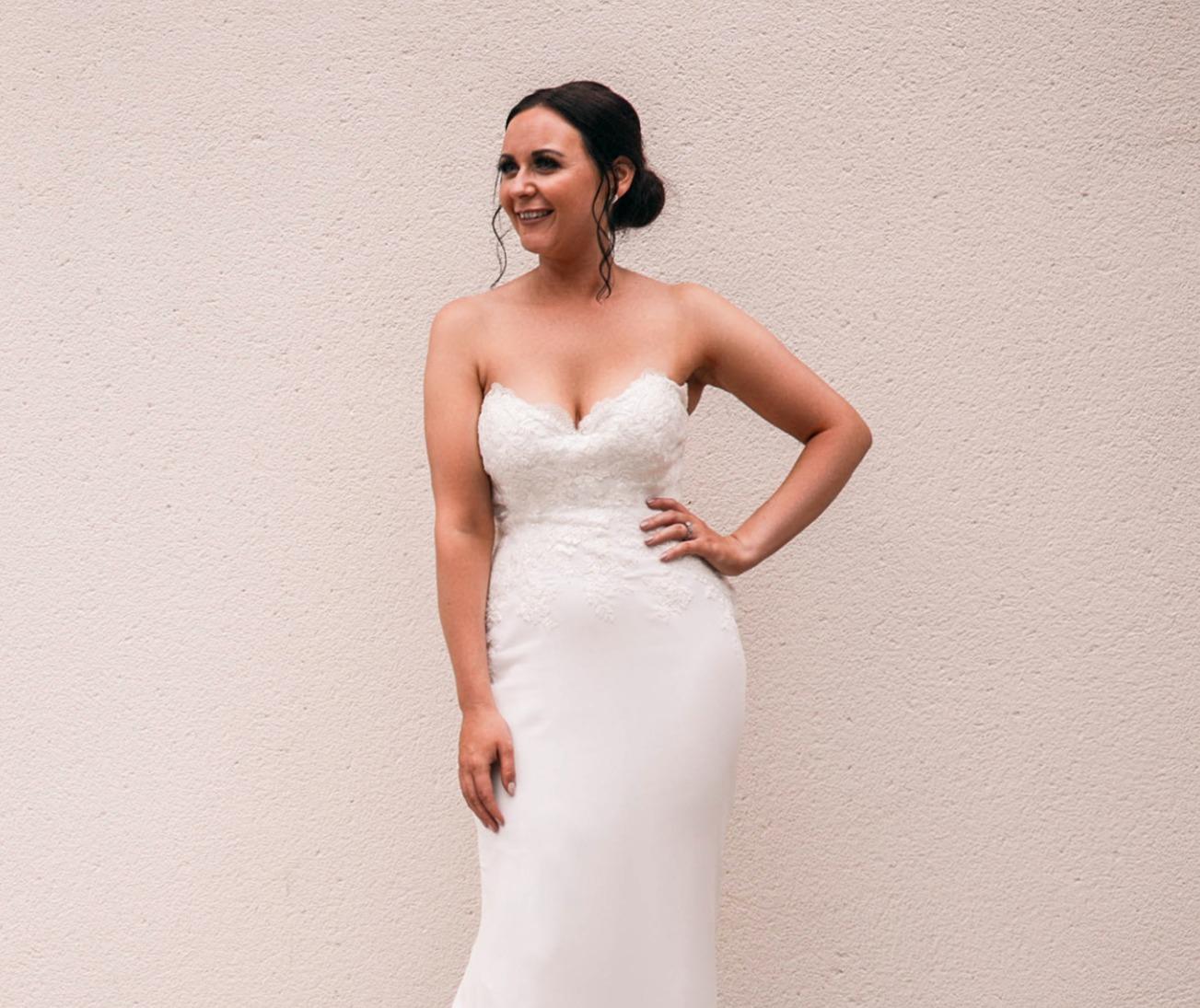 Bridal up-do