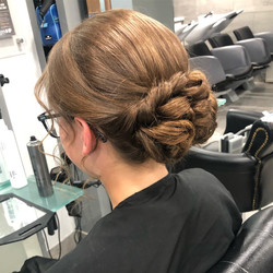Beautiful up-do