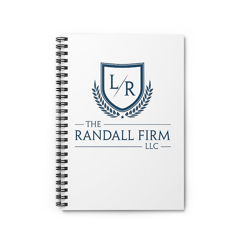 The Randall Firm Spiral Notebook