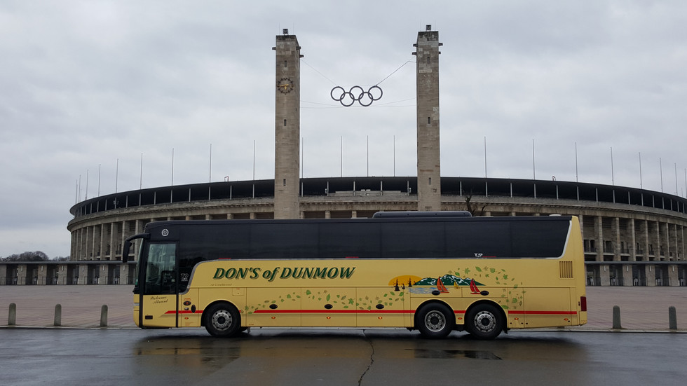 DN12 DON outside the Olympic Stadium Berlin