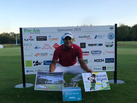 Mike Toorop wint Wouwse Plantage Trophy