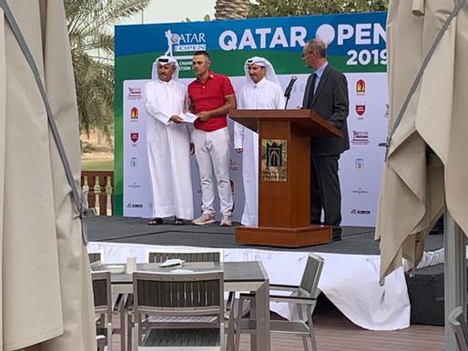 Mike Toorop wint invite voor Commercial Bank Qatar Masters