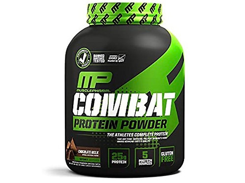 MusclePharm Combat post-workout protein powder (Chocolate milk flavour)
