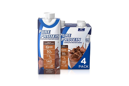 Chocolate Protein post-workout drink - 4 Pack (330ml each)